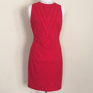 Vince Camuto red shift dress